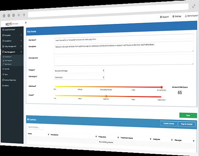 KCM GRC Platform Reviews and Pricing - 2019