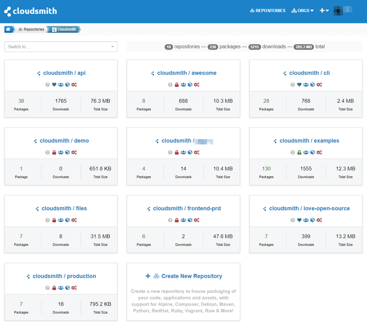 Cloudsmith Package Reviews and Pricing - 2019