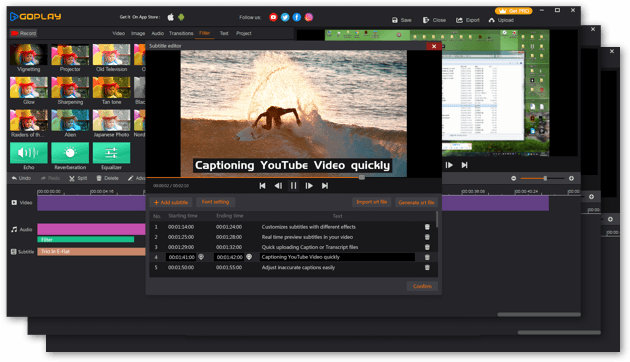 GoPlay Video Editor Reviews and Pricing - 2019