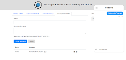 Autochat - Whatsapp Business API Sandbox Reviews and Pricing