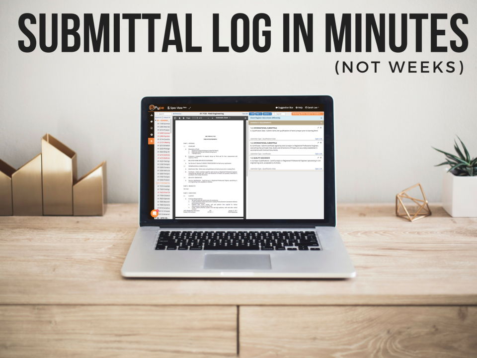 Your full log in minutes