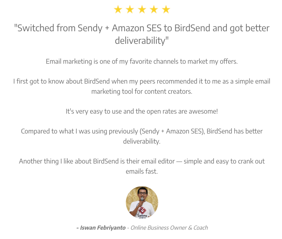 Birdsend Reviews And Pricing 2019