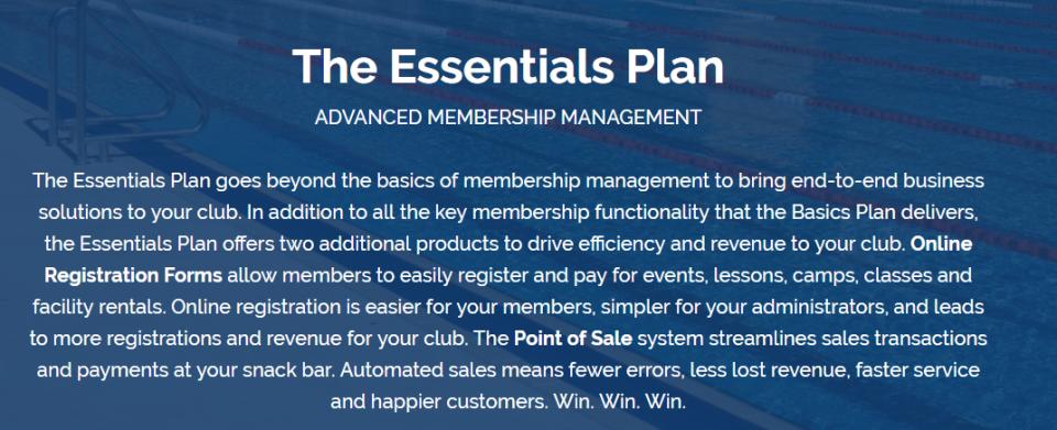 Member Splash Essentials