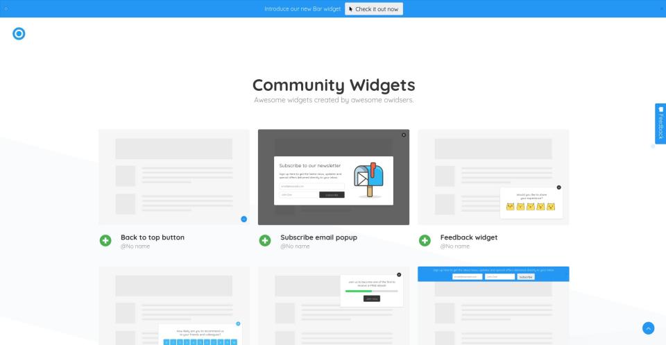 owids community widgets p