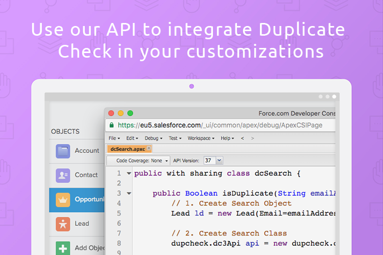 Integrate with our API