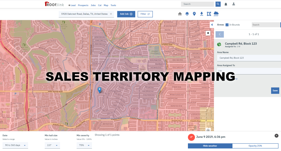 Sales territory assignmet