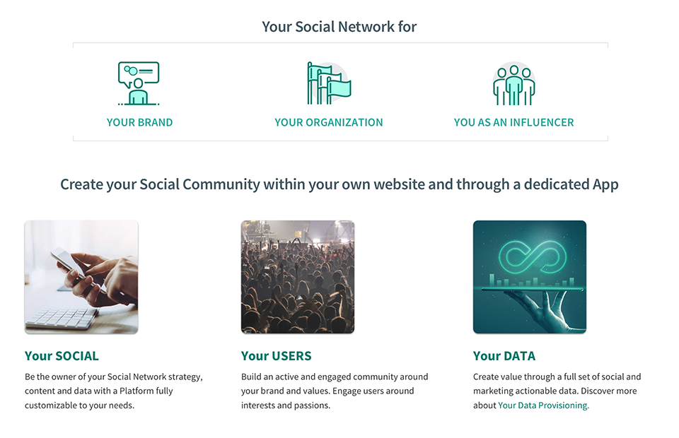 Your Social Network for Y