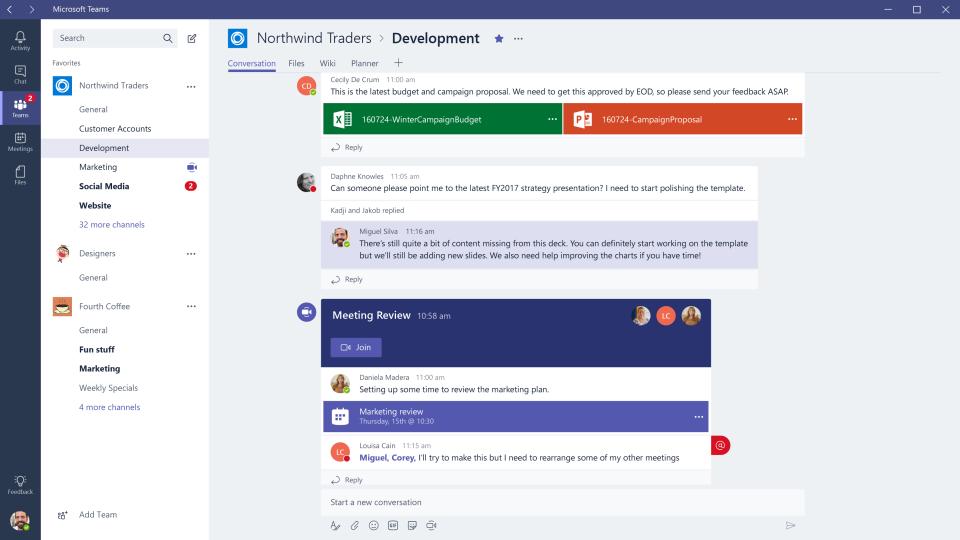 Microsoft Teams Reviews and Pricing - 2019